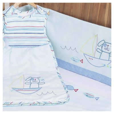 Lollipop Lane Fish and Chips Newborn Cot/Cot Bed Bedding Bale