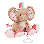 Nattou Large Musical Soft Toy - Rose the Elephant