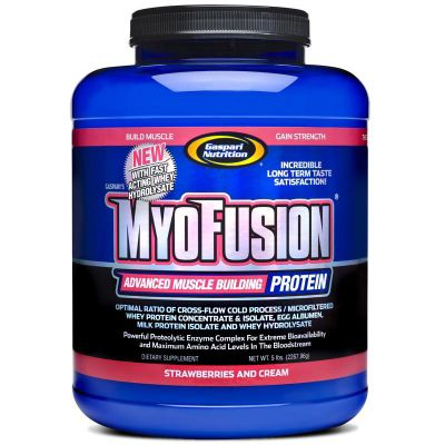 Gaspari Myofusion 2.27kg - Strawberries and Cream