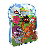 MOSHI MONSTERS Kids Backpack Blue