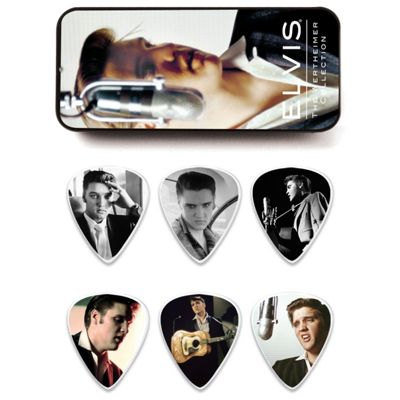 Elvis Presley Wertheimer Pick Tin, Medium - 6 Picks