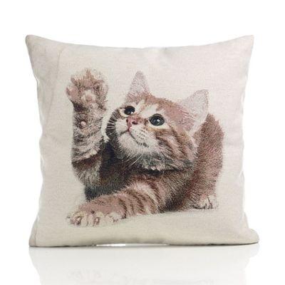 Alan Symonds Tapestry Kitten Cushion Cover - 45x45cm
