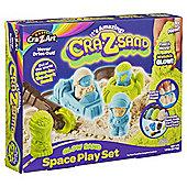 Cra-Z-Sand Glow Sand  Space Playset