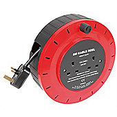 Mains Extension Cable Reel - 6m