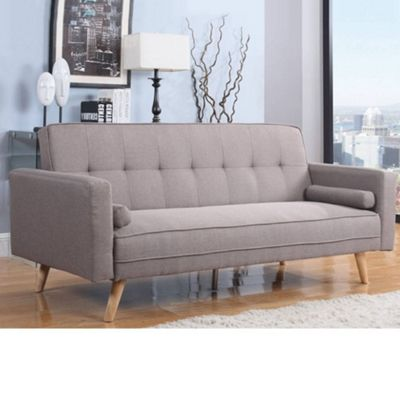 Happy Beds Ethan Fabric Sofa Bed - Grey