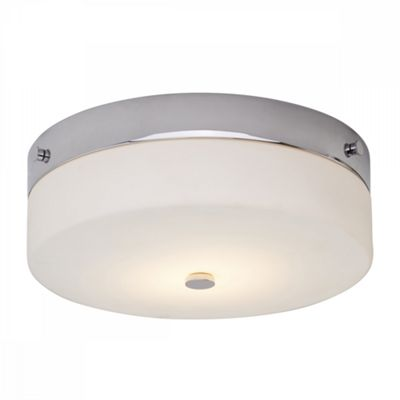 Polished Chrome Flush Light - 1 x 9W LED GX53
