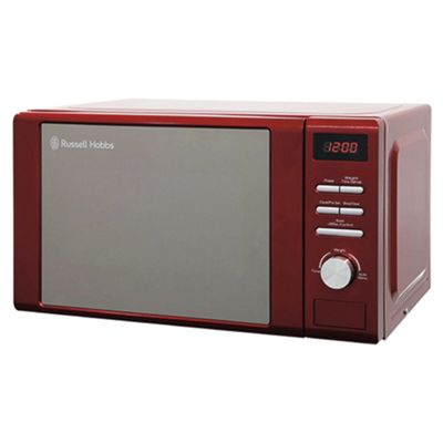Russell Hobbs RHM2064R Solo Microwave, 20L - Red