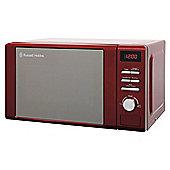 Russell Hobbs RHM2064R, Legacy 20 Litre Digital Microwave, Red