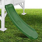 Mad Dash 1.15m Plastic Slide - Forest Green