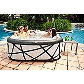 MSPA SOHO Spa 6 Seater Square Grey Blow-Up Hot Tub Jacuzzi