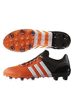 adidas ACE 15+ Primeknit FG Football Boots Orange / White / Black - Orange
