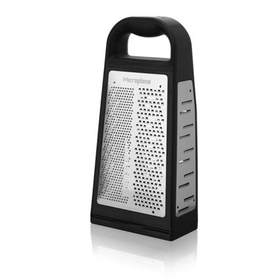 Microplane Speciality Series 5 in1 4 Sided Stainless Steel Box Grater 34019E