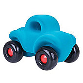 Rubbabu Large Wholedout Car (Turquoise)