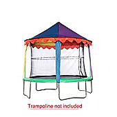 14ft JumpKing Circus Canopy Trampoline Tent