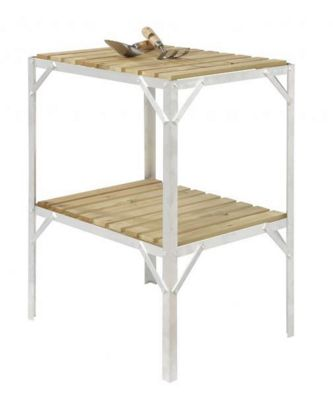 Simplicity Caverswall staging / Bench Wooden Two Tier 18