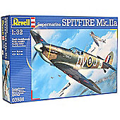 Revell Supermarine Spitfire Mk Iia 1:32 Aircraft Plastic Model Kit 03986