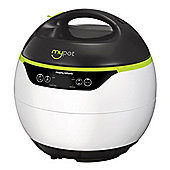 Morphy Richards 560005 Mypot Pressure Cooker with 4 Litre Capacity and 950W Power in White