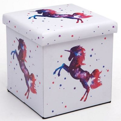Purple Unicorn Storage Box and Seat