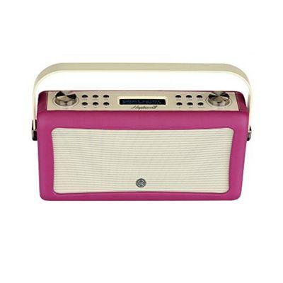 ViewQuest Hepburn MkII DAB/DAB+/FM Radio with Bluetooth (Deep purple)