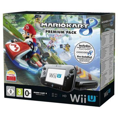 Nintendo Wii U Console Mario Kart 8 Premium Bundle