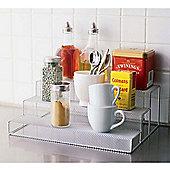 Design Ideas Spice Stepper Mesh Silver