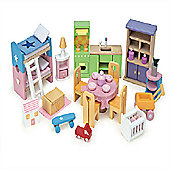 Le Toy Van Doll's House Starter Furniture Set