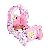 Disney Princess Carriage Feature Toddler Bed & Foam Mattress