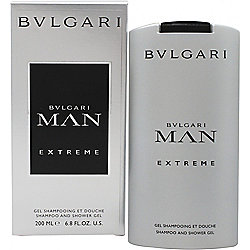Bvlgari Man Extreme Shampoo & Shower Gel 200ml