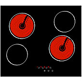 MyAppliances ART29104 60cm Touch Control Glass Ceramic Hob
