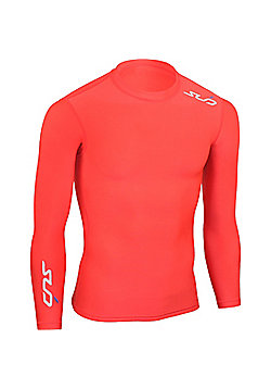 Subsports Cold Long Sleeve Thermal Top Adult - Red