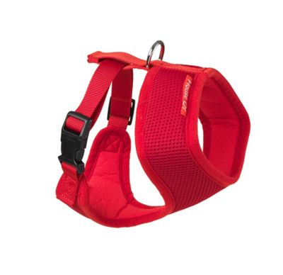 Memory Foam Harness Red - L