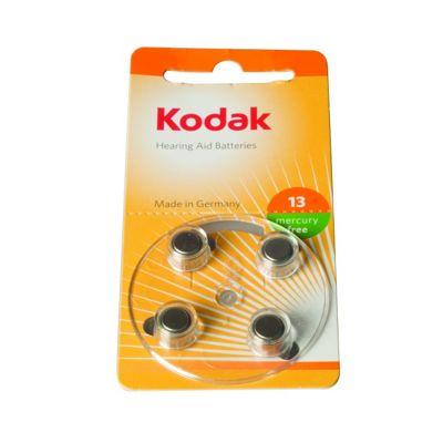 Kodak Hearing Aid Size 13 Battery 4 Pack