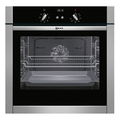 Neff B44M42N5GB 60cm, Stainless Steel, Electric, Single Oven