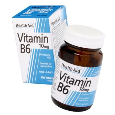 Health Aid Vitamin B6 100mg 90 Tablets