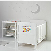 Obaby Disney Inspire Winnie the Pooh 2 Piece Room Set and Changing Mat - Pooh and Friends