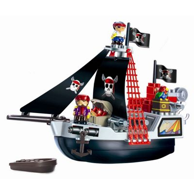 abrick Pirate Ship Play Set