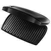 George Foreman 18910 Entertaining Large 10 Portion Family Grill - Black
