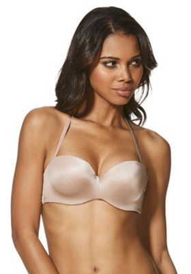F&F Perfect Lace Wing Multiway Bra 36D Latte