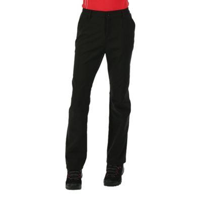 Regatta Ladies Fenton Trousers Black 18 Regular Leg