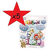 Oddbods Blind Bags Collectible Figurines 5 Bags Supplied