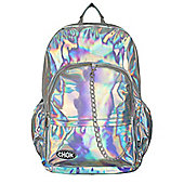 Chok Starlight Silver Backpack 29x42x13cm