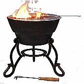 SAFIR cast iron firepit, 42cm dia