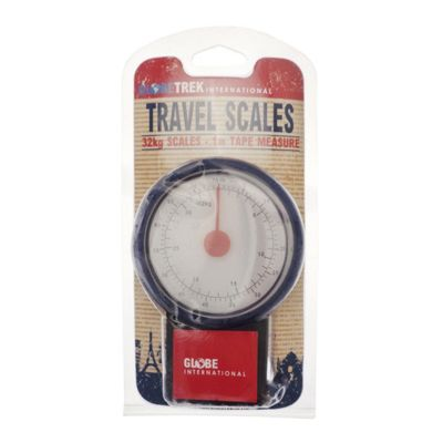 Globetrek Travel Scales, Blue