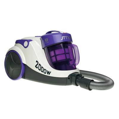 Hoover TMS2005 Smart Cylinder White/Purple Vacuum Cleaner