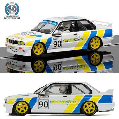 SCALEXTRIC Slot Car C3829A Anniv Col Car No3 - 1990s, BMW E30 M3