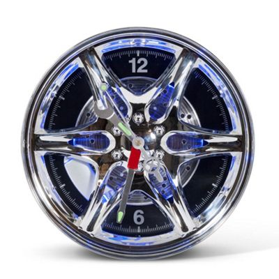 LED Wheel Rim Clock