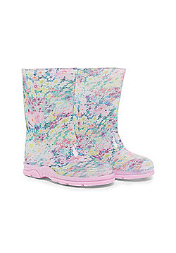 Mothercare Clothing Floral Wellies Wellington Boots Size 1 adlt