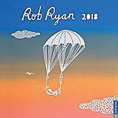 Rob Ryan 2018 Square Wall Calendar 30x30cm