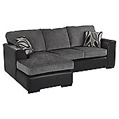Hadley Left Hand Corner Sofa, Dark Grey