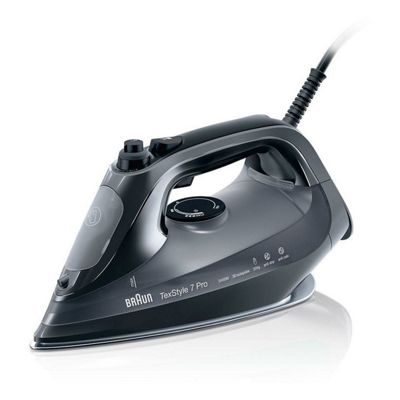 Braun-SI7042BK Steam Iron with 2400w Power, 300ml Water Tank Capacity and 50g/min Steam Output
